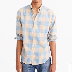 NWT Jcrew men's button down shirt xxl